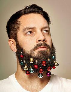 Agora Você Já Pode Transformar A Sua Barba Em Uma Árvore De Natal