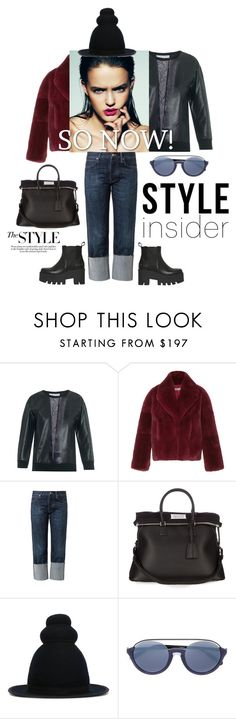 """Style insider"" by zabead ❤ liked on Polyvore featuring Christopher Kane, Cacharel, M.i.h Jeans, Maison Margiela, Henrik Vibskov, Linda Farrow, Windsor Smith, StreetStyle, urban and newlook"