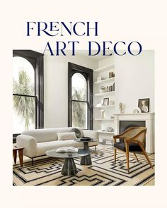 Welcome to the 20's. The new era of art deco is here. Shop our collection of rugs, furniture and decor to create this living room look. Cheap Office Decor, Cheap Home Decor, Art Deco Living Room, Cozy House, Home Decor Accessories, Decoration, Home Remodeling, Decor Styles, Bedroom Decor