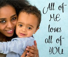 All of ME loves all of YOU wall vinyl decal LOVE vinyl wall decal for a master bedroom, baby room or nursery or family living room by ArtsyWallsAndMore on Etsy