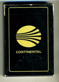 Continental Airlines Playing Cards in BlackBox