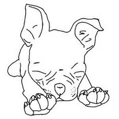 boston terrier coloring pages to print | boston-terrier-coloring-pages-10 | woof ornament exchange ...