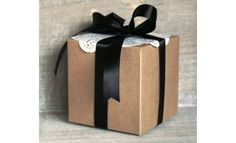 Kraft Boxes - the perfect size for large cupcakes, scented candles, large sweet treats and more!