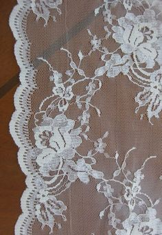 Lace Fabric: China, 140cm width, Color, cream, white