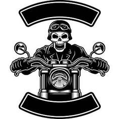 Mechanic Logo 37 Skull Handle Bars Engine Auto Car Part Biker