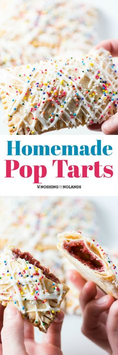 Homemade Pop Tarts by Noshing With The Nolands will bring back the child in you. The kids are sure to love them as an after school treat!