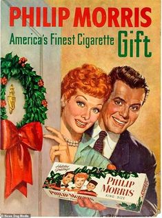 Philip Morris is another cigarette brand that was promoted for Christmas. In this version,. ads These vintage Christmas adverts will make you VERY nostalgic