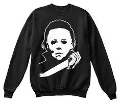 Perfect Halloween Shirt, Horror Costume Black T-Shirt Front Michaels Halloween, Halloween 2, Halloween Horror, Michael Myers, Horror Shirts, Horror Masks, Halloween Sweatshirt, T Shirt Costumes, Tee Shirts