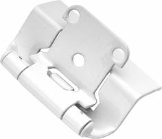 KBHardware | Semi-Concealed Collection 1.3125 Inch Hinge Full Wrap (Pack of 2)