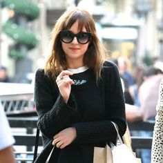 Dakota Johnson's New Hair Color: Is This Brunette Enough to Play 50 Shades' Anastasia Steele?