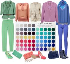 """""""LIGHT SUMMER - Experimenting"""" by lizzycb on Polyvore"""