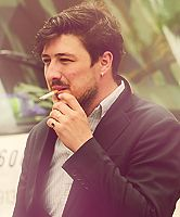 I don't like cigarettes, however, he's so handsome it's mesmerizing just to look at him regardless...