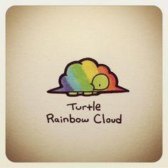 Cute Turtle Drawings, Animal Drawings, Cute Drawings, Sweet Turtles, Cute Turtles, Tiny Turtle, Turtle Love, Kawaii Turtle, Cartoon Turtle