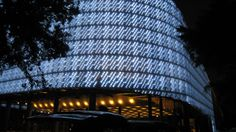 EcoARK Pavillion, built with 1.5 million recycled plastic drink bottles.