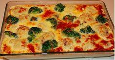 Zapečená brokolice s květákem Pizza, Quiche, Macaroni And Cheese, Breakfast, Cooking, Ethnic Recipes, Food, Html, Essen