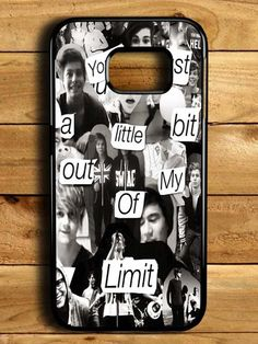 5sos Collage Samsung Galaxy S6 Edge Case