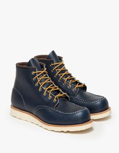 Red wing 8882 Mock-Stitched Leather Boots  in Blue for Men (indigo)