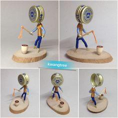 #병뚜껑아트 #뚜껑맨 #팽이치기 #ビンの栓芸術 #独楽 #こま #瓶盖 #艺术 #瓶盖人 #陀螺 #BottleCapArt #Toy #Top #Spinning