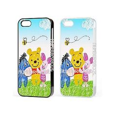 Cartoon winnie the pooh Eeyore Cute Case Cover For iPhone iPod Samsung Galaxy