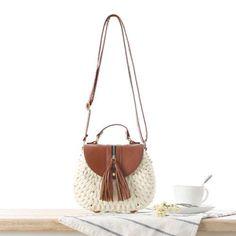 Luggage & Bags 2019 Circle Straw Bag Handwoven Bali Round Retro Rattan Straw Beach Bag Crossbody Bags For Women Bao Bao Bolso Mujer#yy20 Low Price Top-handle Bags