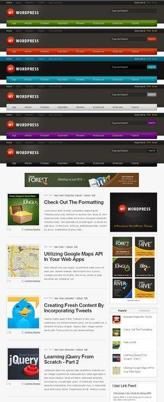 My WordPress - Personal Blog WordPress Theme • Download ➝…