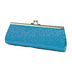 Save $4.01 on Turquoise Glitter Twist Lock Small Clutch Handbag; only $10.99