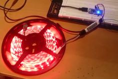 Picture of LED Strip Controller w/ LED Amp + Arduino