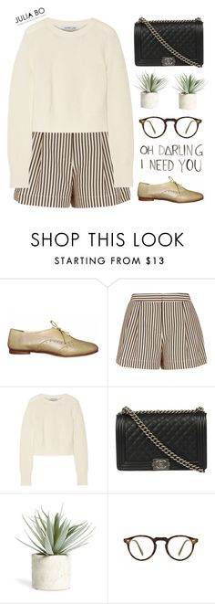 """""""Customize your shoes"""" by mihreta-m ❤ liked on Polyvore featuring 3.1 Phillip Lim, Helmut Lang, Chanel, INDIE HAIR, Allstate Floral and Oliver Peoples"""