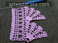 Tığişi Örgü Havlu Kenarı Yapımı & Crochet Crochet Pincushion, Crochet Potholders, Crochet Doilies, Crochet Flowers, Thread Crochet, Crochet Scarves, Crochet Stitches, Crochet Hooks, Filet Crochet Charts