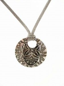 How to Series: PMC Stamp and Cut Pendant    STAMP AND CUT: An effective but simple project for Precious Metal Clay in association with PMC. Design this pendant in only 7 steps!     #pmc #jewellery making #cooksongold #precious metal clay