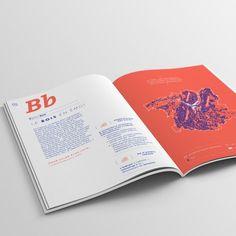 """L' """"Abécédaire des rencontres Métropolitaines"""" est un ouvrage réalisé pour Grenoble-Alpes Métropole, qui souhaitait synthétiser, sous forme d'un abécédaire, les échanges issus des 4 Rencontres Métropolitaines qu'ils avaient organisé entre 2012 et 2013. Nous avons mis l'accent sur le rendu moderne du document afin de maintenir le lecteur en haleine"""
