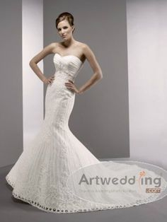 graceful wedding dress $258.00
