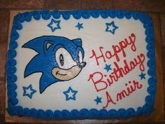 sonic the hedgehog cakes | Sonic the Hedgehog Cake