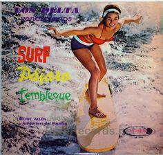 Richie Allen y los Surfers Del Pacifico  Venezuelan LP issued in the mid-1960s. #vinyl #albums #records