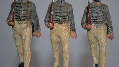 Massefiguren Hausser Elastolin 3 Westpoint-Kadetten marschierend 1. WK 138 | eBay