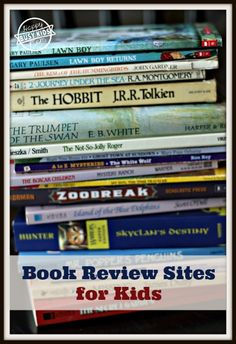 Help your students choose age appropriate books. Book Review Sites for ALL Kids (Elementary – High School) from www.busykidshappymom.org