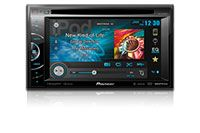 """AVH-X3600BHS - NEW! - 2-DIN Multimedia DVD Receiver with 6.1"""" WVGA Touchscreen Display, MIXTRAX, Bluetooth®, HD Radio™ Tuner, SiriusXM Ready, and AppRadio Mode for iPhone®"""