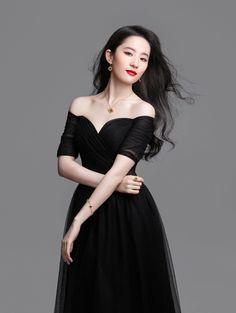 Liu Shi Shi Leads Short List of C-actresses Notable for Having Swan's Necks - A Koala's Playground