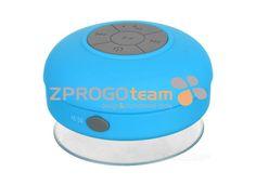 Stylish waterproof bluetooth speaker 3 in 1 (bluetooth, handsfree, suction cup). Waterproof Bluetooth Speaker, Bluetooth Speakers, Stylish