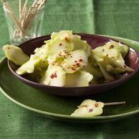 Broccoli Stalk Salad- pretty good.  i would add a little more heat.