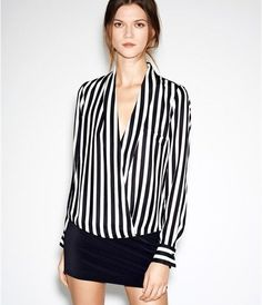 Camisa Black Striped - ref.072 - DMS Boutique