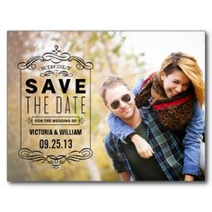 RUSTIC OVERLAY | SAVE THE DATE ANNOUNCEMENT #fineanddandypaperie #savethedate