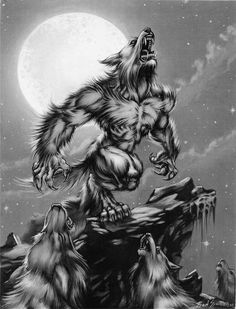Ron Spencer Werewolf Art #13