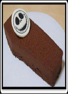 Jack Skellington is a coffin-shaped brownie....morbidly cute...
