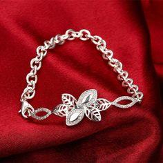 Розы украшения новое бесплатная доставка новейшие женщин шикарный дизайн серебряный позолоченный браслет завод прямых продаж SZ3112