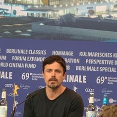press conference for Falmouth, Ale, Berlin, Casey Affleck, Light Of My Life, Conference, Movies, Instagram, Perspective Photography