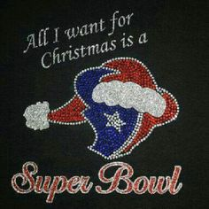 Merry Christmas Texans Fans!! actually, I want a Texans Super Bowl & my passing Part IV NBCE scores :)