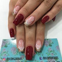 Love Nails, Nailart, Instagram Posts, Gold Nails, Designed Nails, Fingernails Painted, Ongles