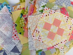 pretty quilt sqaures