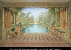 Classical murals made by Eddie VAN HOEF.
